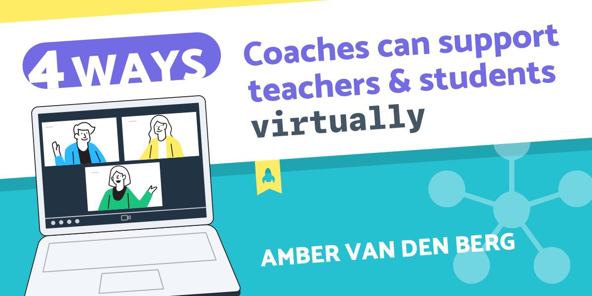 Infographic Header - Van Den Berg - 4 Ways Support Virtually