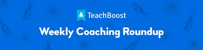Weekly Coaching Roundup - January 2020 (Half) (Seasonal)