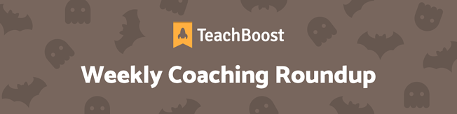 Weekly Coaching Roundup - October 2020 (Half) (Seasonal)