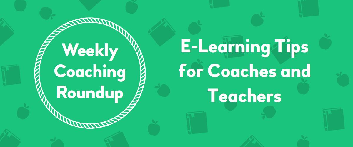 2020-03 Roundup Header - E-Learning Tips