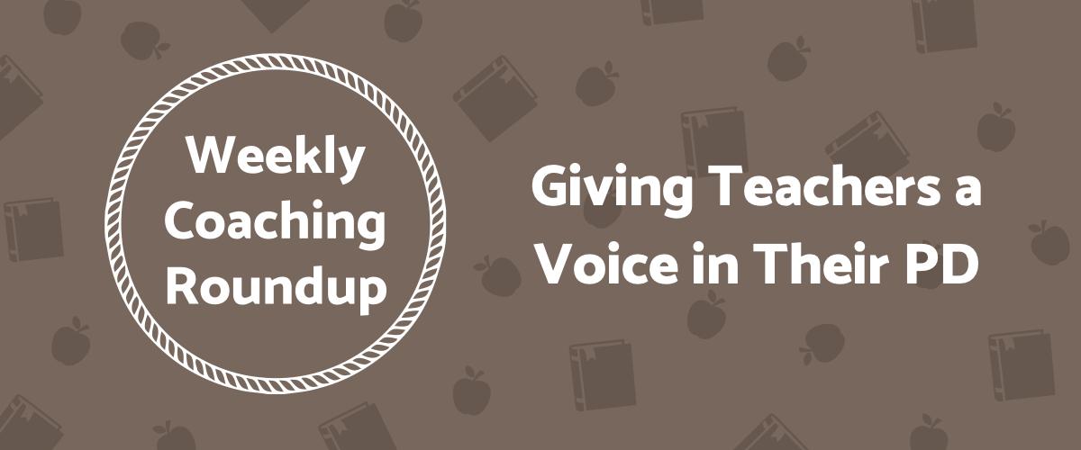 2020-10 Roundup Header - Teacher Voice