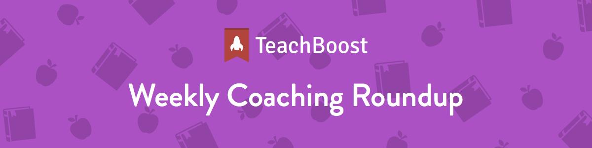Weekly Coaching Roundup - February 2019 (Half)