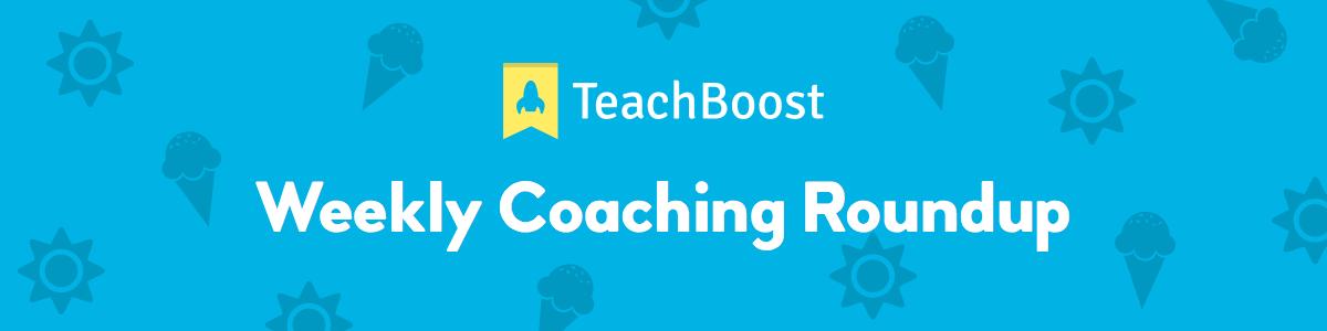 Weekly Coaching Roundup - June 2019 (Half) (Seasonal)