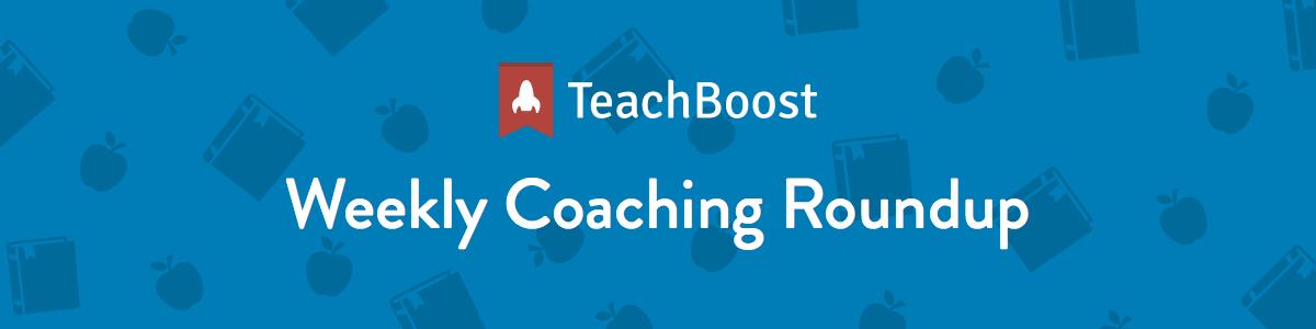 Weekly Coaching Roundup 16-1-2019 (Half)
